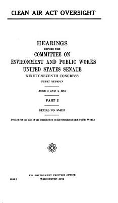 Clean Air Act Oversight PDF