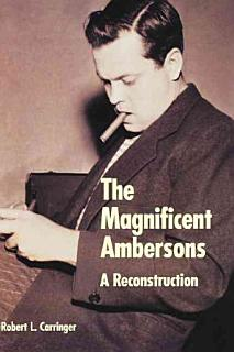 The Magnificent Ambersons Book