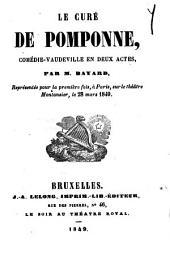 Le curé de Pomponne: comédie-vaudeville en deux actes