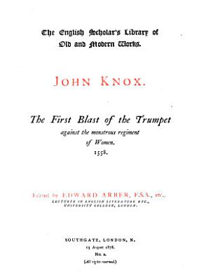 The First Blast of the Trumpet