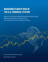 Managing Climate Risk in the U S  Financial System PDF