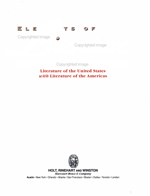Elements of Literature PDF