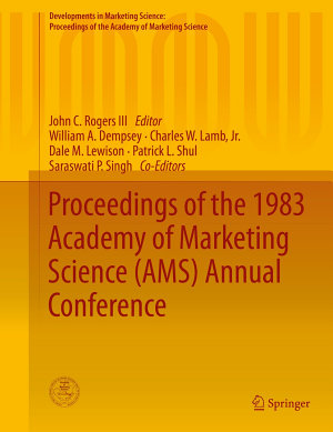 Proceedings of the 1983 Academy of Marketing Science  AMS  Annual Conference PDF