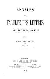 Annales: Volumes1à2