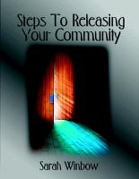 Steps To Releasing Your Community PDF