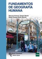 Fundamentos de geograf  a humana PDF