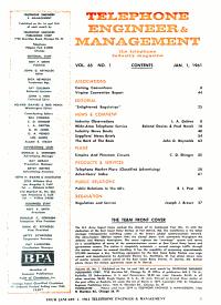 Telephone Engineer   Management PDF