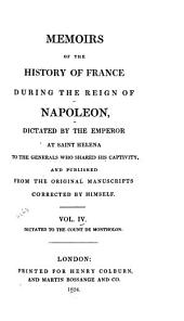 Memoirs of the History of France During the Reign of Napoleon: Volume 4