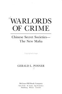 Warlords of Crime PDF