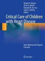 Critical Care of Children with Heart Disease PDF