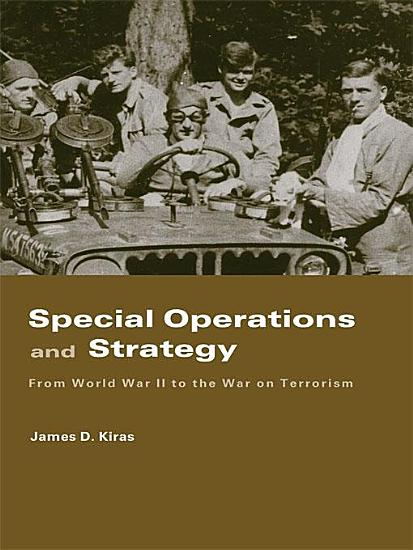 Special Operations and Strategy PDF