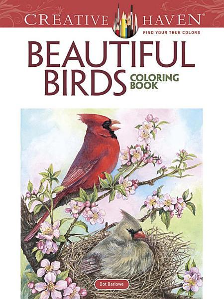 Creative Haven Beautiful Birds Coloring Book