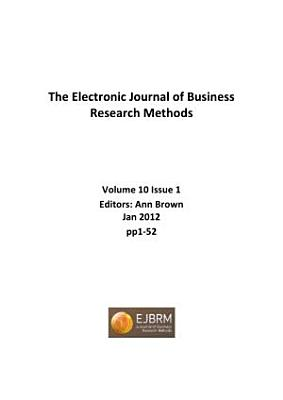 Electronic Journal of Business Research Methods