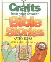 Crafts from Your Favorite Bible Stories PDF