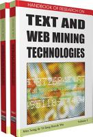 Handbook of Research on Text and Web Mining Technologies PDF
