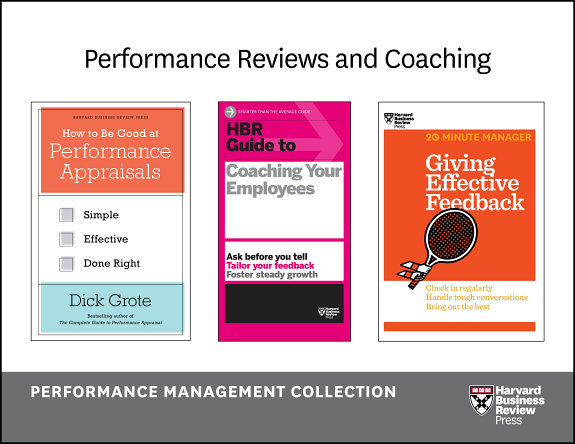 Performance Reviews and Coaching  The Performance Management Collection  5 Books  PDF