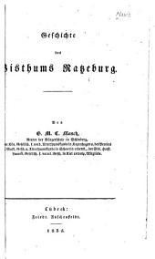Geschichte des Bisthums Ratzeburg