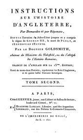 Instruction sur l'histoire d'Angleterre, par demandes et par reponses, depuis l'invasion de Jules-Cesar (etc.)