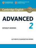 Cambridge English Advanced 2 Student s Book without answers PDF