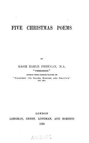 Five Christmas Poems