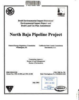 Draft Environmental Impact Statement environmental Impact Report and Draft Land Use Plan Amendment PDF