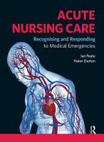Acute Nursing Care PDF