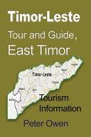 Timor Leste Tour and Guide  East Timor PDF