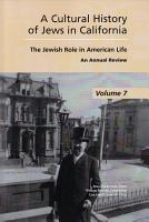 A Cultural History of Jews in California PDF