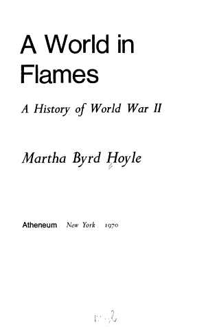 A World in Flames PDF