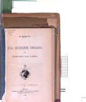 Collection of pamphlets on Earthquakes in Italy: Volume 2