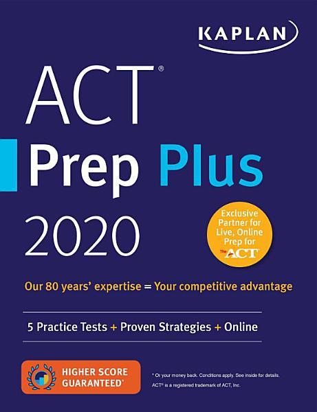 ACT Prep Plus 2020 PDF