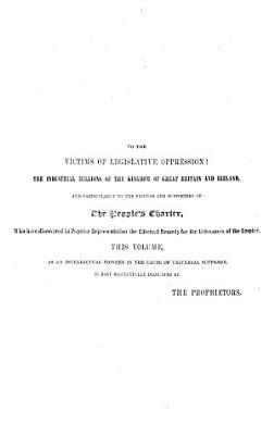 The Chartist circular  ed  by W  Thomson PDF