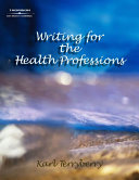 Writing for the Health Professions PDF