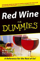 Red Wine For Dummies Book