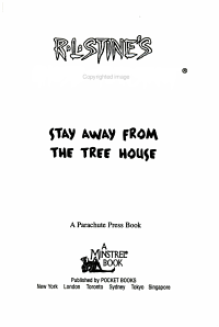Stay Away from the Tree House PDF