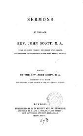 Sermons, ed. by J. Scott