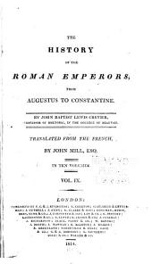 The History of the Roman Emperors: From Augustus to Constantine, Volume 9