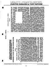 Mealey s Litigation Reports PDF
