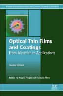 Optical Thin Films and Coatings PDF