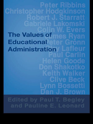 The Values of Educational Administration