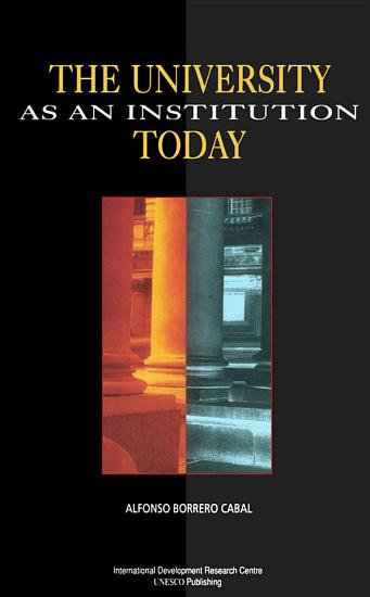 The University as an Institution Today PDF