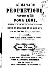 Almanach prophétique, pittoresque et utile pour ...: Volume11
