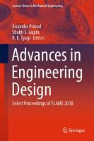 Advances in Engineering Design PDF