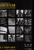 Source Book of American Architecture PDF
