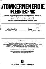 Atomkernenergie/Kerntechnik