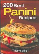 200 Best Panini Recipes Book