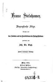 Franz Stelzhamer: Biographische Skizze
