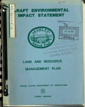 Ashley National Forest (N.F.), Land and Resource(s) Management Plan (LRMP) (UT,WY): Environmental Impact Statement