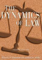 The Dynamics of Law PDF
