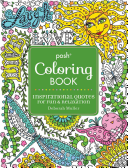 Posh Adult Coloring Book  Inspirational Quotes for Fun and Relaxation